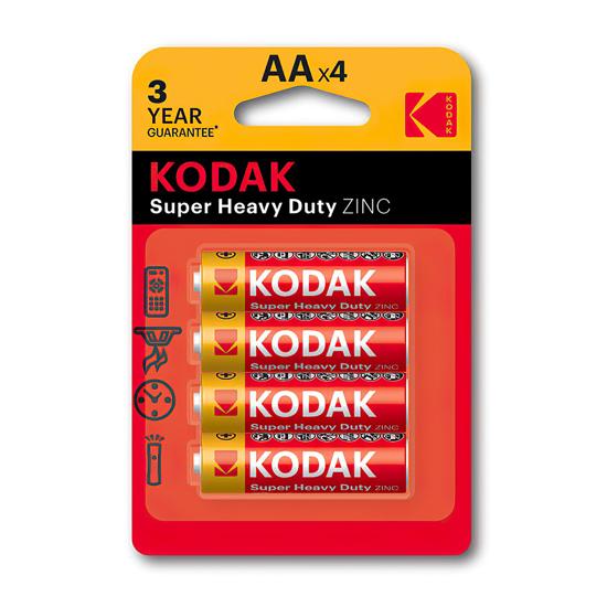 Picture of Baterija KODAK,CKLR6 AA CINK KLORID 4/1 (887930951042)