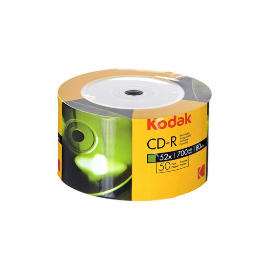 Picture of CD-R,KODAK, 700 MB,52X,spindle 50 kom (4895199900189)