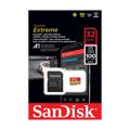 Picture of Micro SD SanDisk Extreme 32GB UHS-3 + adapter Čitanje 100MB/s, Pisanje 60MB/s SDSQXAF-032G-GN6MA