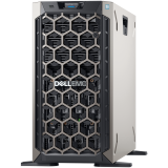 """Picture of x( PET340WCISM01_4TB-56 )Dell PowerEdge T340 Server, Xeon E-2224, up to 8 x 3.5"""" Hot Plug HDD, 16GB"""