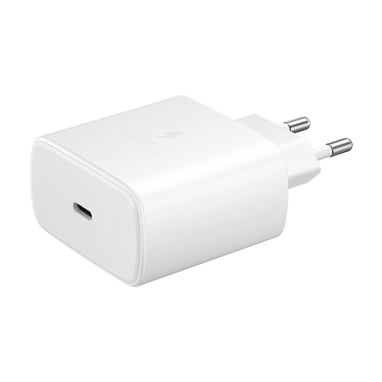 Picture of Punjač Samsung USB-C Super Fast Travel Charger Travel Adaptor (45W with 1m Type-C to Type-C 5A Cable) EP-TA845XWEGWW