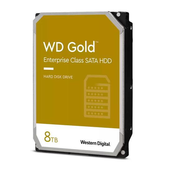 Picture of HDD 8 TB, WD8004FRYZ SATA-6Gb, IntelliPower rpm, 256 MP GOLD