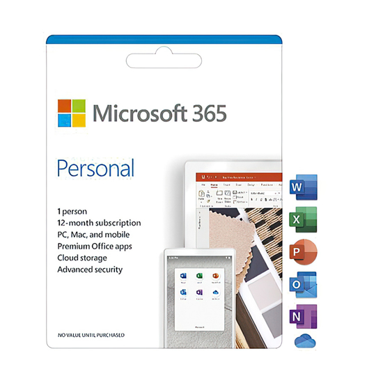 Picture of Microsoft Office 365 Personal English 1YR CEE QQ2-01030