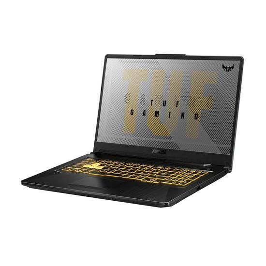 """Picture of ASUS TUF Gaming F17 FX706LI-HX181 17,3"""" FHD IPS 144 Hz Intel 10870H 8GB/512 GB SSD/NVIDIA GeForce GTX 1650-Ti/G2g/RGB KBD/siva"""