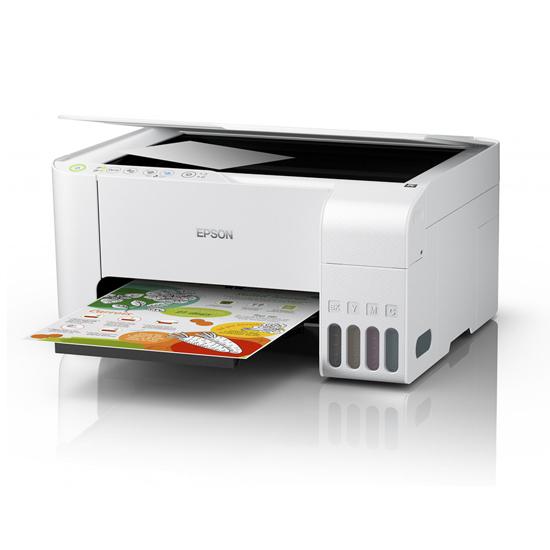 Picture of Printer Epson MFP L3156 ITS 10 Str/min crno-bijelo , 5 Str/min Colour printer/scan/copy USB+WiFi BIJELI