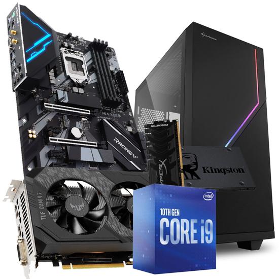 Picture of GNC RAČUNAR GAMER i9-10900 2.8GHz 20MB, MB Z490, ASUS TUF-GTX1650 GDDR6 4 GB, DDR4 16GB 3200MHz, SSD 480 GB, 550 W ATX, 24 mj.
