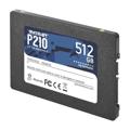 """Picture of SSD 2,5"""" PATRIOT P210 SATA 3 512GB P210S512G25"""
