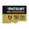 Picture of MICRO SD PATRIOT 64GB EP Series High Endurance microSDXC Card +Adapter PEF64GE31MCH