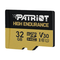 Picture of MICRO SD PATRIOT 32GB EP Series High Endurance microSDHC Card +Adapter PEF32GE31MCH