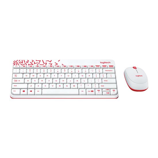Picture of Tastatura + miš bežično Logitech MK240 white, USB, 920-008202/008160