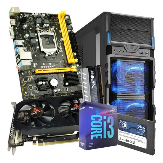 Picture of GNC GAMER ULTRON-  I3-9100F Processor 3.60GHz, MB B365, RAM DDR4 16GB 2666 MHz, SSD 256GB, RX560 4GB, VG5-V, 500 W, 24 mj.