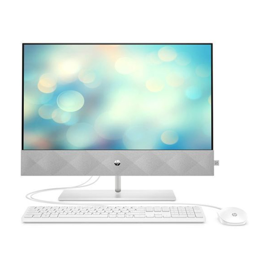 Picture of PC AiO HP Pavilion All-in-One 24-k0084ny, 22B83EA LCD 23.8 LED FHD BVNON-TOUCH, AMD Ryzen 3 4300U (2.7GHz, 4 core), 8GB DDR4 3200,256 GB SSD NVMe