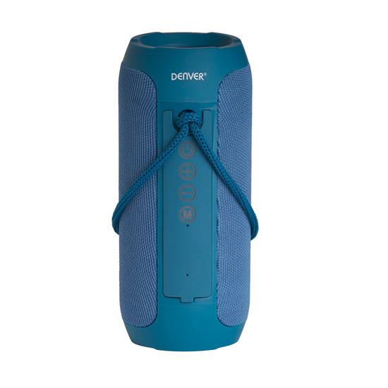 Picture of Denver bluetooth zvučnik BTS-110 BLUE, FM radio, AUX, USB & MicroSD, 2 x 5W RMS