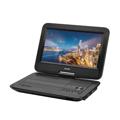 "Picture of Denver portable DVD player MT-1084NB, 10.1"" screen, USB/SD, zvučnik"