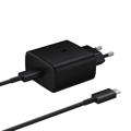 Picture of Punjač SAMSUNG ORG. Type-C Super Fast Travel Charger Travel Adaptor (45W with 1m Type-C to Type-C 5A Cable) EP-TA845XBEGWW