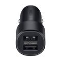 Picture of Auto punjač SAMSUNG ORG. Dual (Fast Charging Dual Port USB-A x2ea) Black EP-L1100NBEGWW