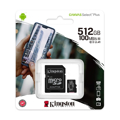 Picture of Micro SD Kingston 512GB SDXC Canvas Plus + adapter