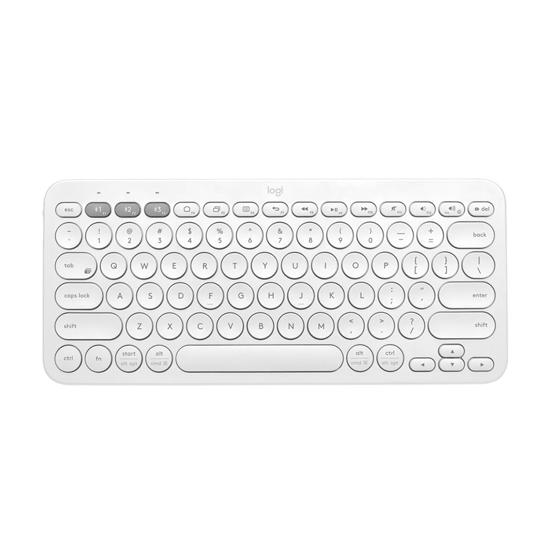 Picture of Tastatura LOGITECH K380 Multi-Device Bluetooth OFFWHITE UK layout 920-009591