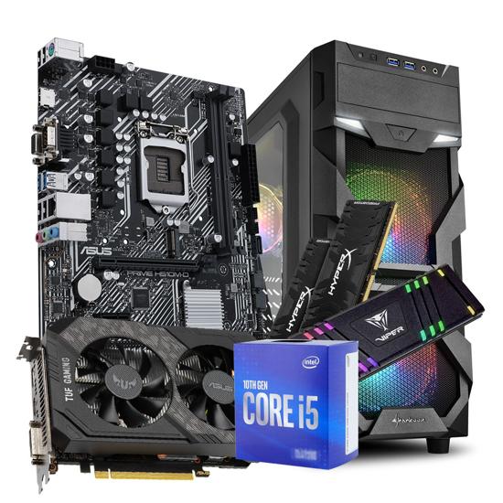Picture of GNC GAMER - i5-10400F  2.90GHz 12MB, ASUS MB PRIME H510M-D, ASUS TUF-GTX1650S-O4G-GAMING, Kingston DDR4 16GB 3000MHzHyperX Predator Black, M.2 512GB