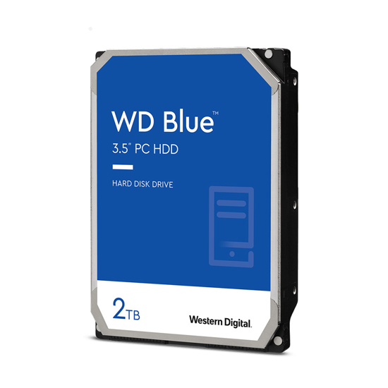 """Picture of HDD 2 TB, WD20EZAZ, WD Blue  SATA3, 256 MB, 3,5"""", 5.400 rpm"""