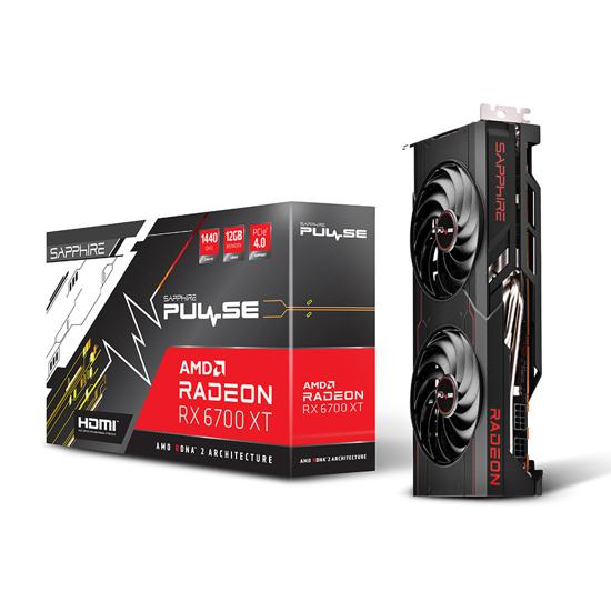 Picture of VGA SAPPHIRE PULSE AMD RADEON™ RX6700 XT GAMING OC 12GB GDDR6 HDMI / TRIPLE DP LITE 11306-05-20G