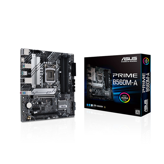 Picture of ASUS MB PRIME B560M-A Intel B560;LGA 1200 4xDDR4;2xHDMI,DP;micro ATX