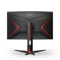 Picture of MONITOR AOC C27G2ZU Black-Red VA, Zakrivljeni.16:9, 1920x1080, 240Hz, 1ms, 300 cd/m2, 3000:1, HDMI*2, DP, USBhub, 2Wx2, vesa