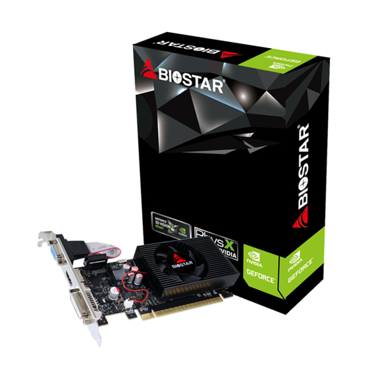 Picture of VGA BIOSTAR GT730-4GB D3 LP, DVI,  VGA, HDMI