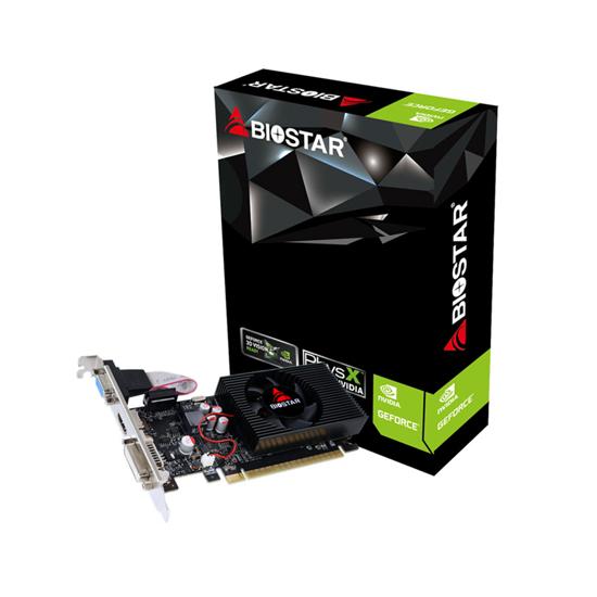 Picture of VGA BIOSTAR GT730-2GB D3 LP, DVI,  VGA, HDMI