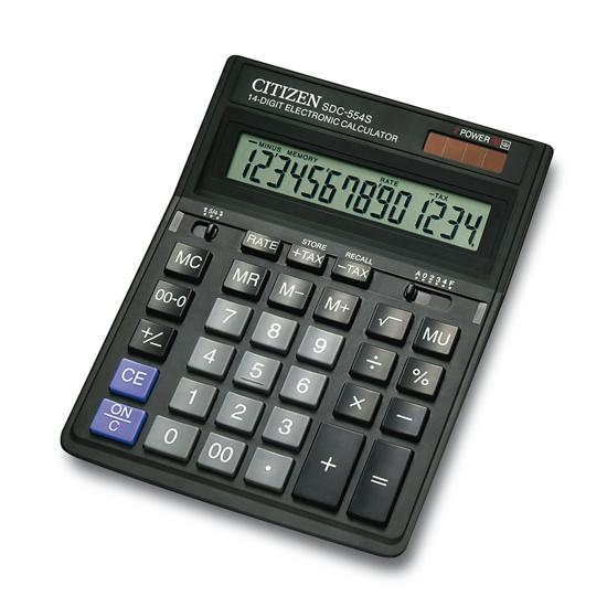 Picture of Kalkulator Citizen SDC 554S