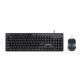 Picture of Tastatura + miš GEMBIRD, KBS-UM-04, multimedia USB, USA layout