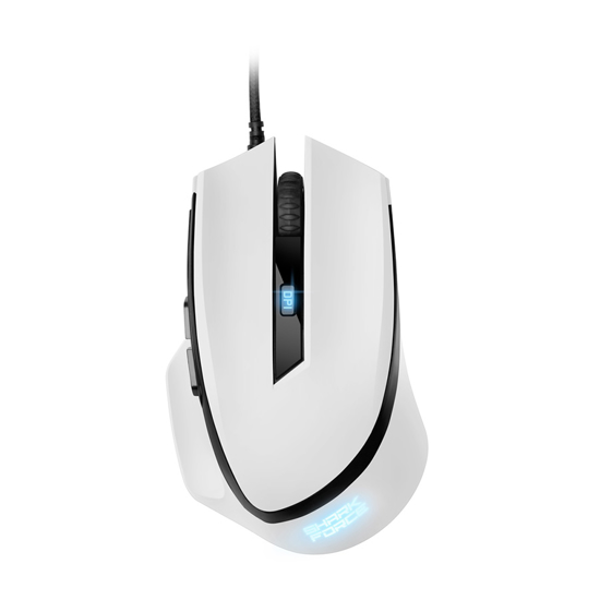Picture of Miš SHARKOON gaming SHARK Force II white OPT U