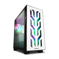 Picture of Kućište SHARKOON gaming, ELITE SHARK CA300T 4x120 mm Addressable RGB Fans, white